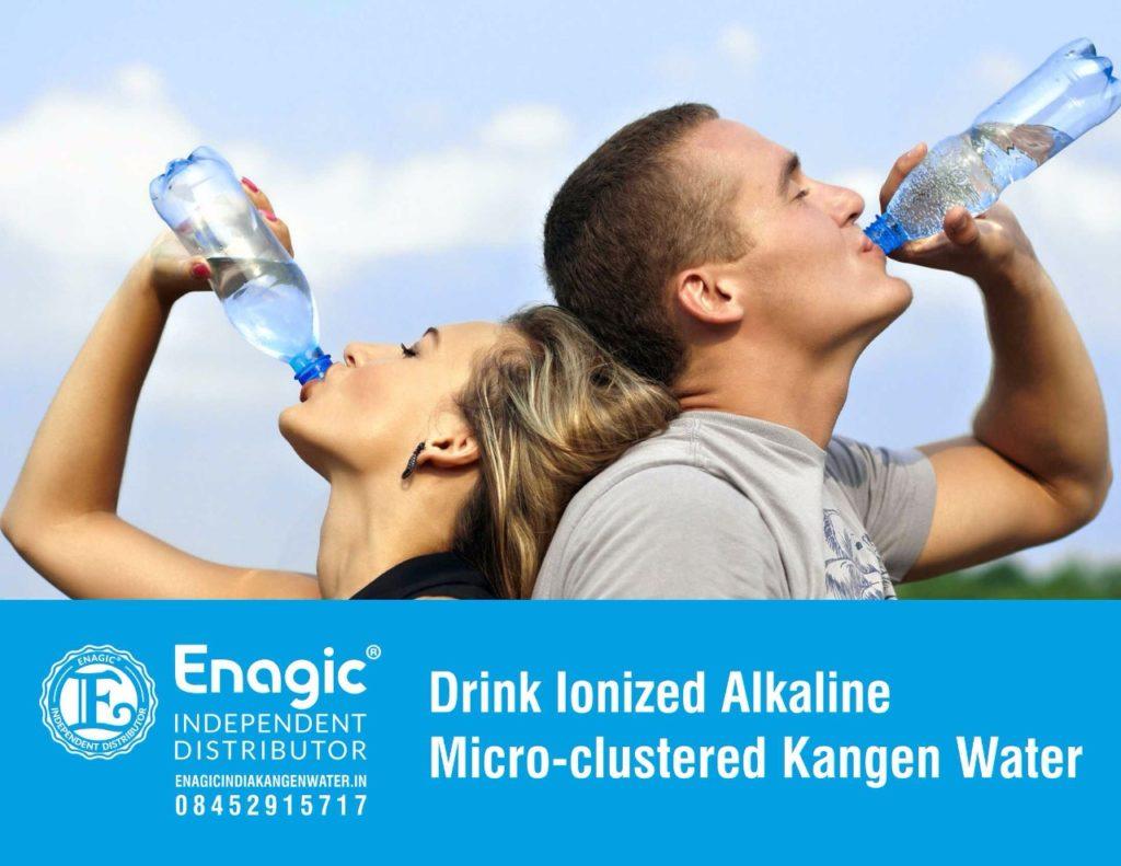 Drink Ionized Alkaline Micro-clustered Kangen Water