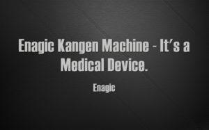 Enagic Kangen Machine