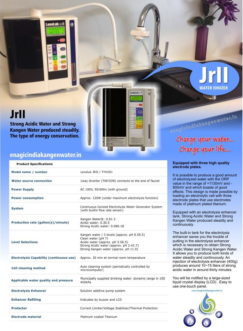 JRII specifications