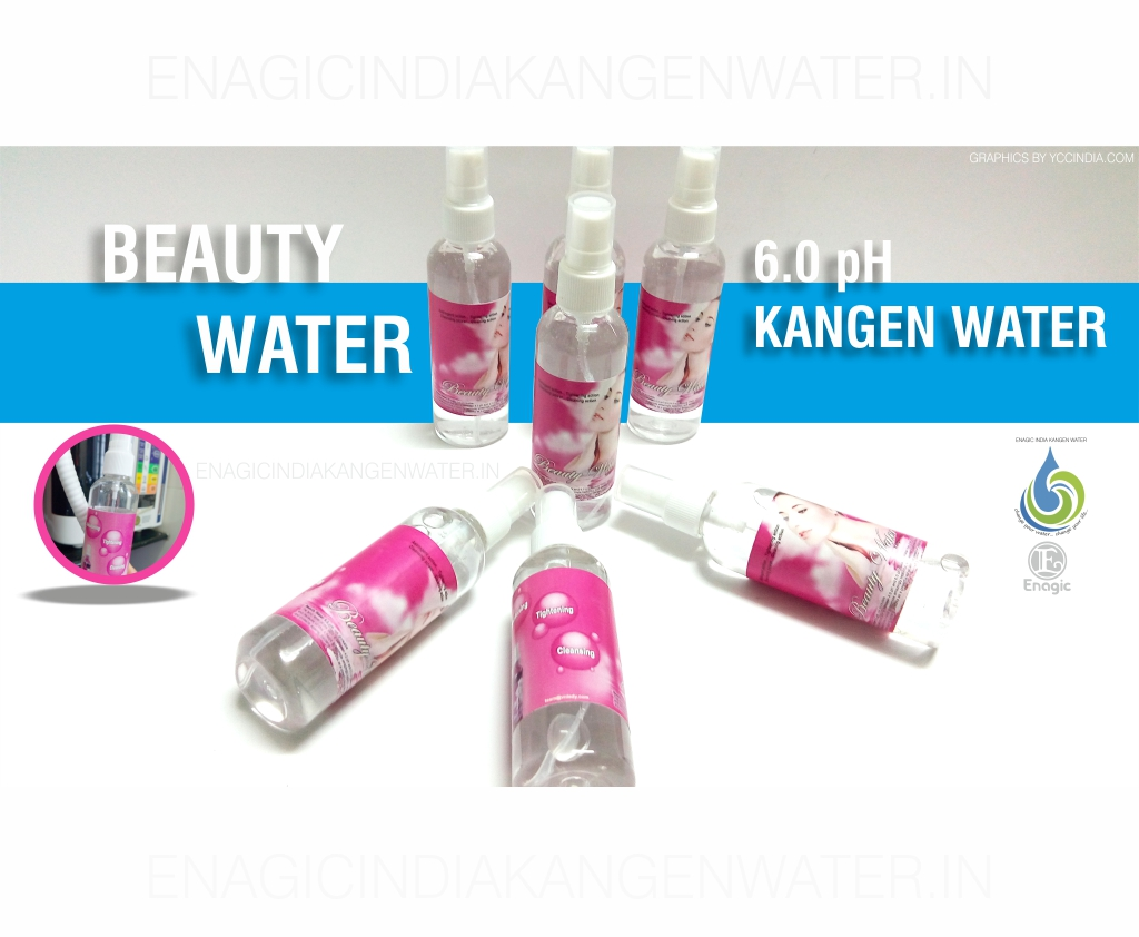 Beauty Water – Enagic India Kangen Water